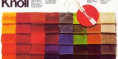 """A """"Knoll Tabloid"""" on swatches"""