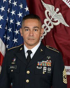 CSM Gustavo Gurrola, Command Sergeant Major, Kimbrough Ambulatory Care Center, August 4, 2017