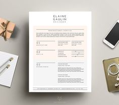 Library Resume Excel Elegant Cv Template  Cv Template Resume Cv And Resume Architecture Sample Healthcare Resume Excel with List Education On Resume Excel Modern Cv Template  Word  Pages By This Paper Fox On Creativemarket Programmer Resume