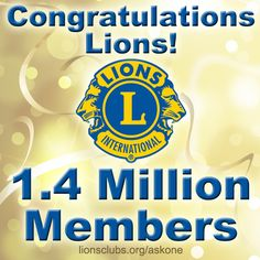 Lions Club International Now Has Million Members Worldwide