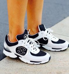8665613a09 12 Best Chanel Sneakers images | Loafers & slip ons, Shoes sneakers ...