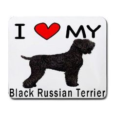 I LOVE MY BLACK RUSSIAN TERRIER POSTER http://puppies.host/Puppies/