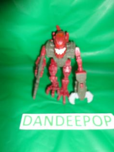 Lego Bionicle Toy Piraka Hakann McDonald's Toy 2006 find me at www.dandeepop.com