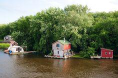 Floating Houses by Jon Siegel, via Flickr