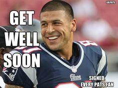get well soon aaron!