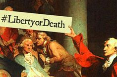 What U.S. History Would Have Been Like With Hashtags. Something to try with your students?