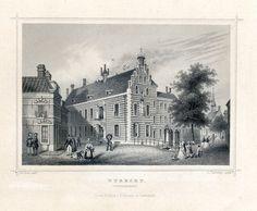 Het Gouvernement 1858, tekening J.W. Cooke - graveur L. Thuemling, op blad ca. 16 x 24.5 cm.
