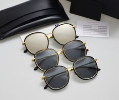 40.00$  Watch now - http://ai10k.worlditems.win/all/product.php?id=32774410586 - Leather packing Gentle Men Women Sunglasses Mad Crush Mirror Tortoiseshell Marble UV400 Driving Gafas Sunglasses Oculos De Sol