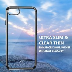 iPhone 8 Hülle, iPhone 7 Silikon Hülle, innislink iPhone 8 / iPhone 7 Bumper Case TPU Schutzhülle Silikon Hülle Flexibel Gel Hülle Kratzfest Schlank Anti-Scratch Anti-Rutsch Handyhülle für iPhone8 / iPhone7 - Schwarz Iphone 8, Slim, The Originals