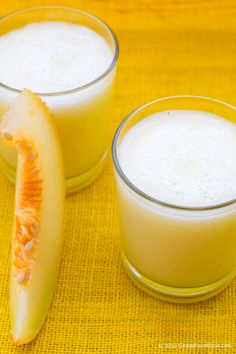 This galia melon smoothie is just ideal for everyone because galia melon has been revealed to be an excellent source of numerous important vitamins that are beneficial to human health.