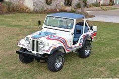 Sweet! Restored CJ-5 Super Jeep from 1976.