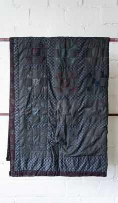 Overdyed Patchwork Quilt #4 by Sharktooth
