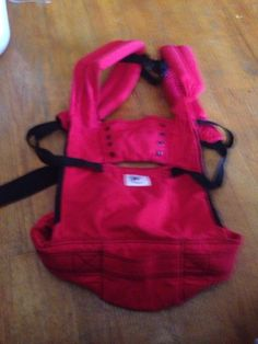 Ergo Sport Baby Carrier Red Larger Model up to 45 lbs! $200 EUC #ErgoBaby