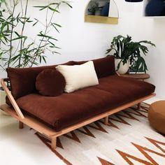 Dreamer couch - velvet in 2019 Sofa Design, Interior Design, Furniture Decor, Modern Furniture, Furniture Design, Rustic Furniture, Outdoor Furniture, Furniture Dolly, Furniture Online