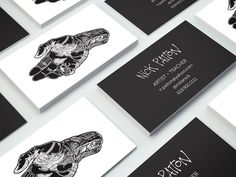 Artist Business Cards by Mashell Ewing.