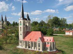 Martinikirche Halberstadt als Miniaturbauwerk.