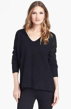 White + Warren V-Neck Cashmere Sweater | Nordstrom