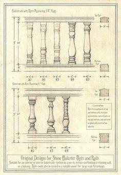 Original Balustrade Designs by Built4ever