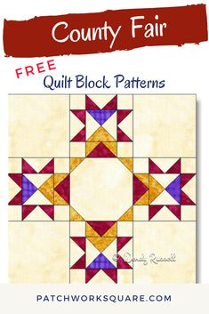 Heart Quilt Pattern, Quilt Square Patterns, Barn Quilt Patterns, Pattern Blocks, Big Block Quilts, Star Quilt Blocks, Small Quilts, Mini Quilts, Half Square Triangle Quilts