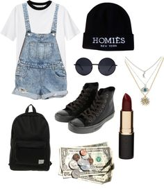 """Homies"" by drinkacid on Polyvore"