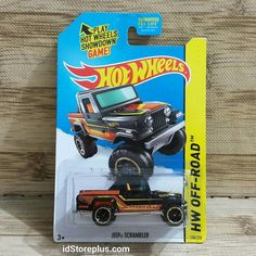 Hot Wheels Jeep Scrambler HW OFF-ROAD 138/250 HW HOT TRUCKS US CARD  Update di: Fb/Twitter/Line: idStoreplus WhatsApp: 0818663621 Source: hotwheelsplaza.com OnlineStore: idstoreplus.com  #hotwheels #jeepscrambler #jeep #hotwheelsphotography #diecast #hotwheelscollector #hotwheelscollection #idstoreplus #hotwheelscirebon #hotwheelstangerang  #hotwheelsjakarta #hotwheelssemarang #hotwheelsindonesia #hotwheelsmurah #pajangan #diecastindonesia #diecastjakarta #kadoanak #kadounik #mainananak…