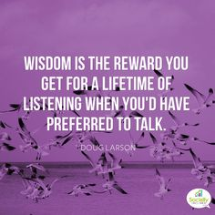 """Another good one --- You have two ears and one mouth... Listen AT LEAST 2X as much as you speak and you will learn a lot... Similarly, people love to be listened to, so if you are trying to hone your """"people skills"""" stop talking and start listening... your customers will thank you <3 #success #quote"""