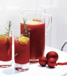 Ponche de frutas con sidra para Navidad