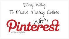 Pinterest is now the 4th most popular social site in terms of monthly visitors and i have come up will a really easy way to make easy money online with Pinterest and monetize the images that you share