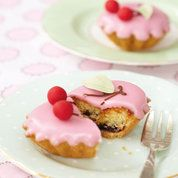 Cherry bakewell tarts | Delicious Afternoon Tea recipes