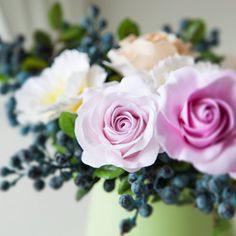 You can learn how to make roses from soft clay by watching my tutorial. Hope you will enjoy it!