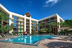 Clarion Inn Lake Buena Vista in Orlando Florida. Orlando Vacation, Vacation Resorts, Orlando Florida, Disney Vacations, Florida Vacation Packages, Indian Shores, Visit Orlando, Lake Buena Vista, Orlando