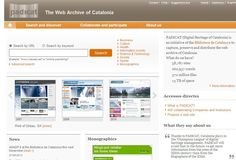 PADICAT (Digital Heritage of Catalonia) is an initiative of the Biblioteca de Catalunya to capture, preserve and distribute the web archive of Catalonia.