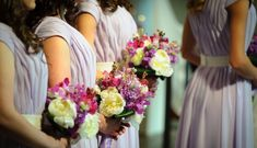 Local Bridal Guide: 20 Places Around Philly to Shop for Bridesmaid Dresses - Philadelphia Wedding Wedding Ceremony Outline, Order Of Wedding Ceremony, Wedding Ceremonies, Grey Bridesmaid Dresses, Bridesmaid Flowers, Wedding Dresses, Bridesmaids, Best Wedding Speeches, Purple Wedding Flowers