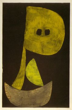 """Severe Countenance"" Paul Klee, 1939"
