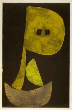 """Severe Countenance"" Paul Klee, 1939"