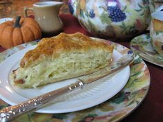 Food For All Reasons - Quiche Lorraine Scones...decadent, but sometimes you just have to splurge.