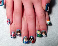 One Direction nails   1D