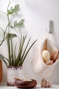 Décorer et organiser une salle de bain zéro déchet