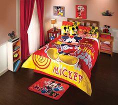 Mickey Mouse Comforter Set Full