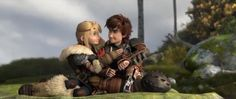 FROM THE HTTYD2 TRAILER. I do not own anything. All happiness and credit to Dreamworks Animation and 20th Century Fox. (YES you two had better kiss.)