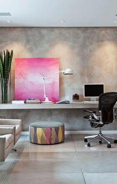 Roze pastel industrieel interieur industrial interior