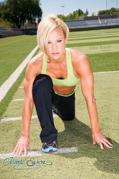 Fitness Friday: Jamie Eason's Full Deck Plyometrics Workout Love Fitness, Fitness Tips, Fitness Motivation, Fitness Women, Fitness Friday, Fitness Models, Plyometric Workout, Plyometrics, Workout Exercises
