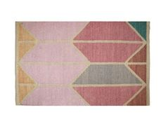 Shapes Pink Combo Area Rug