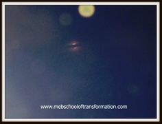 See the orbs by the moon during the lunar eclipse out my healing center's window.