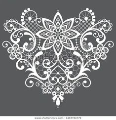 Lace Tattoo Design, Lace Design, Tattoo Designs, Lace Drawing, Pattern Drawing, Lace Patterns, Embroidery Patterns, Body Art Tattoos, Hand Tattoos