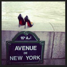 Christian Louboutin -New Yorker in Paris