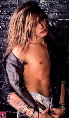 Dear Sebastian Bach.  Why did you have to grow up to act like such and idiot.  You were so cute back in the day