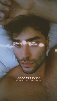Ocean Blue Eyes, Toni Mahfud, Wake Up, Good Morning, Fictional Characters, Artists, Buen Dia, Bonjour, Fantasy Characters