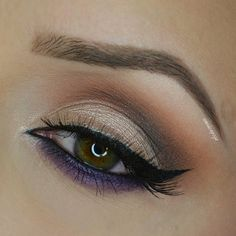 Products used: MUG Cocoa Bear, Latte and two foiled eyeshadows In the spotlight and Masquerade