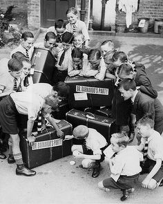 Thousands of British children were shipped to Australia after World War II, only to be stripped of their identities, used as slave labour and abused. Years later, they still bare the scars of their savage treatment.       English child migrants some of whom arrived in Australia. Photo: supplied
